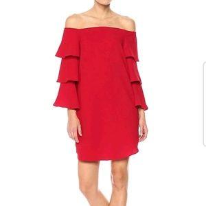 NANETTE LEPORE OFF THE SHOULDER Dress 8